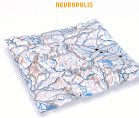 3d view of Nevrópolis