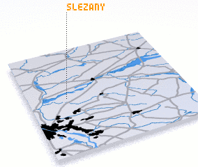 3d view of Ślężany