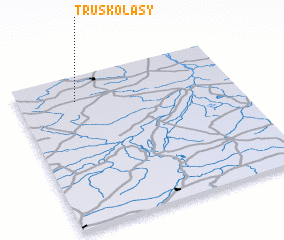 3d view of Truskolasy