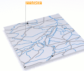 3d view of Iwaniska