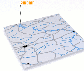 3d view of Piwonin