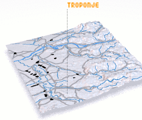 3d view of Troponje