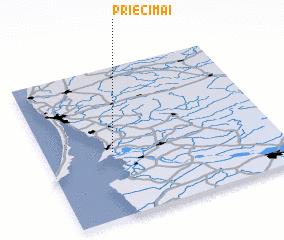 3d view of Priecimai