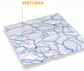 3d view of Kobylanka