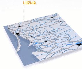 3d view of Lužija