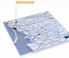 3d view of Vėveriškiai