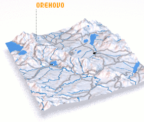 3d view of Orehovo