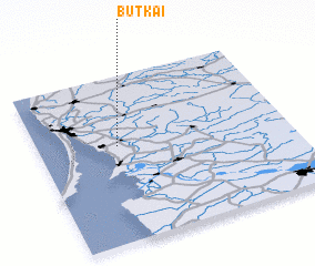 3d view of Butkai