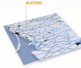 3d view of Alksniai