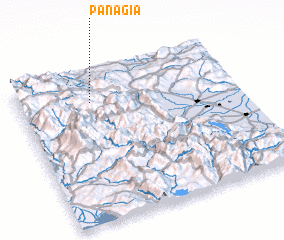 3d view of Panagía