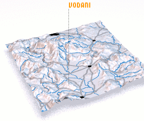3d view of Vođani