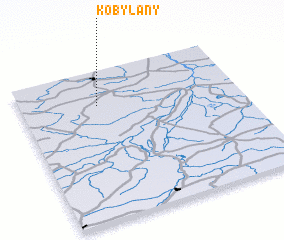 3d view of Kobylany