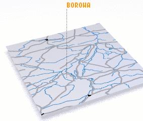 3d view of Borowa