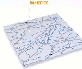3d view of Kamieniec