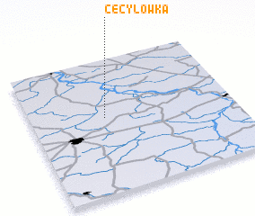 3d view of Cecylówka