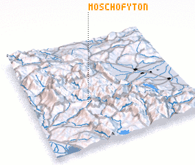 3d view of Moschófyton