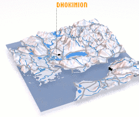 3d view of Dhokímion