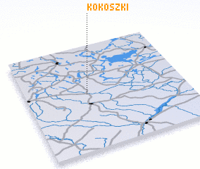 3d view of Kokoszki