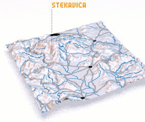 3d view of Stekavica