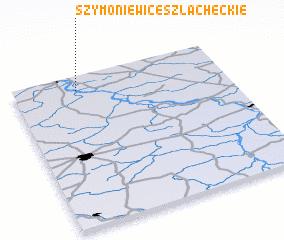 3d view of Szymoniewice Szlacheckie