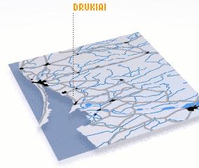 3d view of Drukiai