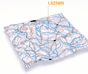 3d view of Loznani