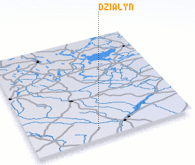 3d view of Działyń