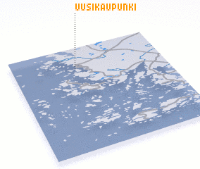 Uusikaupunki Finland map nonanet