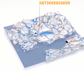 3d view of Káto Kerásovon