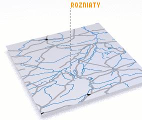 3d view of Rożniaty