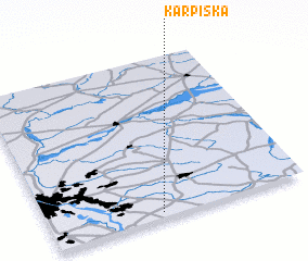 3d view of Karpiska