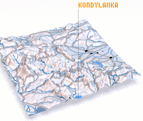 3d view of Kondylaíïka