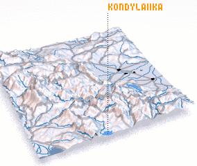 3d view of Kondylaíïka