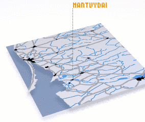 3d view of Mantvydai