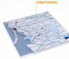 3d view of Žemaitkiemiai