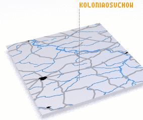 3d view of Kolonia Osuchów