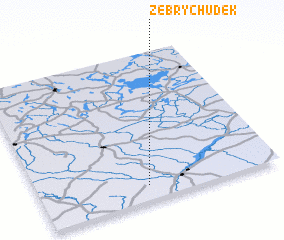3d view of Żebry Chudek