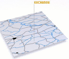 3d view of Kochanów