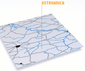 3d view of Ostrownica