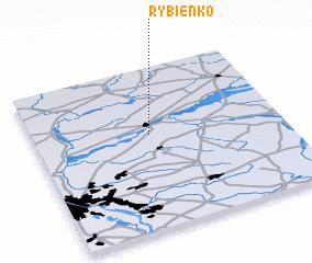 3d view of Rybienko