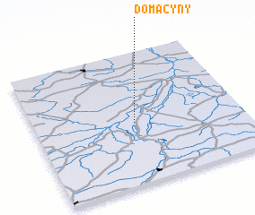 3d view of Domacyny