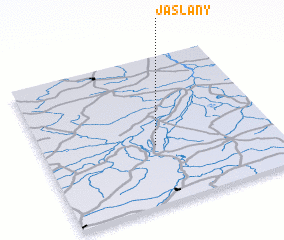 3d view of Jaślany