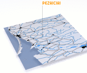 3d view of Pėžaičiai