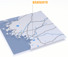3d view of Brandmyr