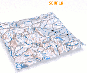 3d view of Soúfla