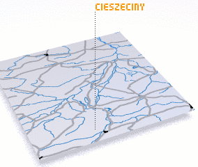 3d view of Cieszęciny