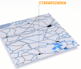 3d view of Stara Różanka
