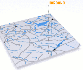 3d view of Kordowo