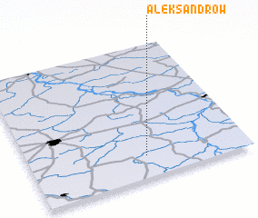 3d view of Aleksandrów