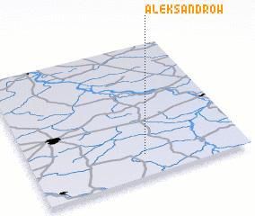 3d view of Aleksandrów